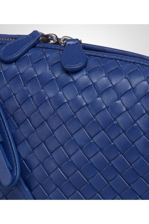 72bdaad612e Cobalt Intrecciato Nappa Nodini Bag by Bottega Veneta at ORCHARD MILE