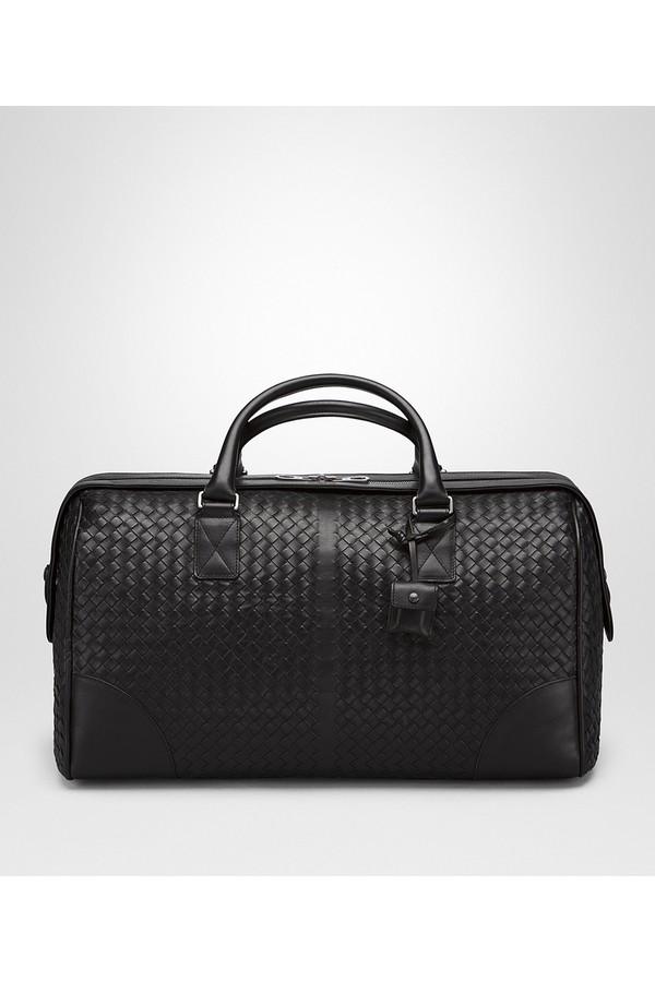 Medium Duffle Bag In Barolo Intrecciato Vn by Bottega Veneta at... 9e39e258d1053