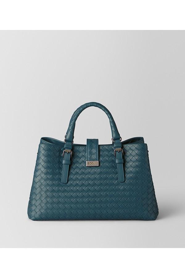4aba14b1701dc Small Roma Bag In Intrecciato Calf by Bottega Veneta at ORCHARD MILE