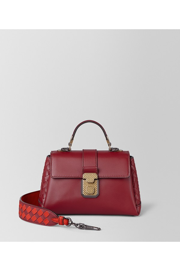 887438a55a17 Mini Piazza Bag In Calf by Bottega Veneta at ORCHARD MILE