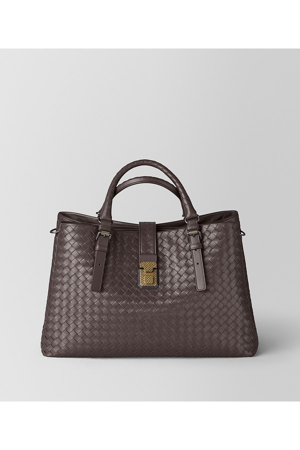 7a2237cd76 Large Roma Bag In Intrecciato Calf by Bottega Veneta at ORCHARD MILE