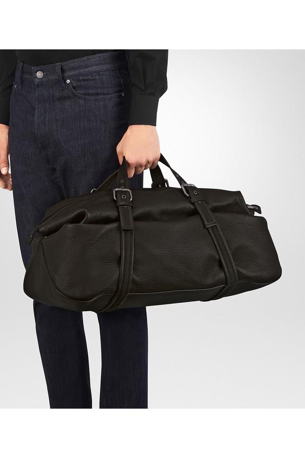 592b12459381 Duffel Bag In Espresso Cervo by Bottega Veneta at ORCHARD MILE