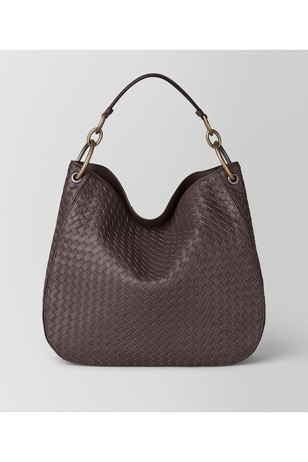 Medium Loop Bag In Intrecciato Nappa by Bottega Veneta at ORCHARD MILE c3b88e8a786a2