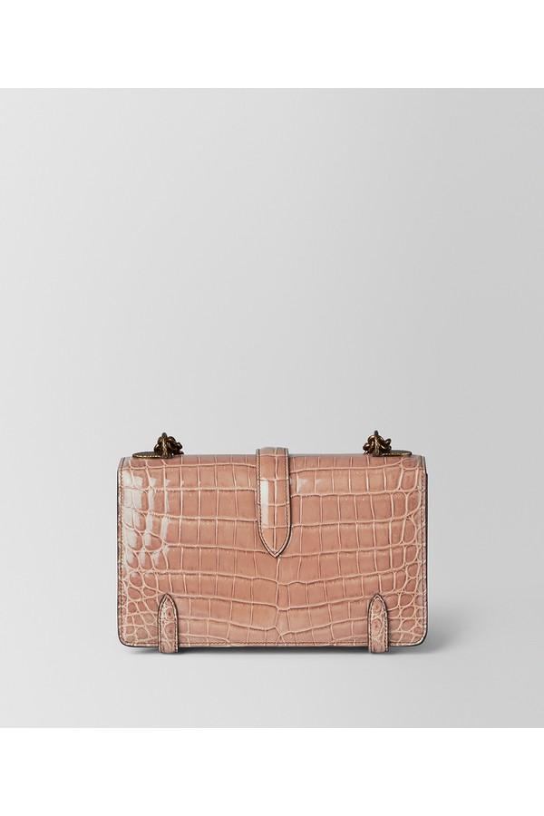 e4740dc169f3 Dahlia Crocodile City Knot Bag by Bottega Veneta at ORCHARD MILE