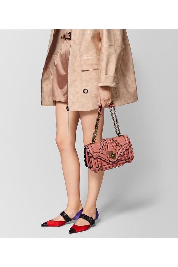 5a8d04a6d3 Hibiscus Intrecciato Wingtip City Knot Bag by Bottega Veneta at...