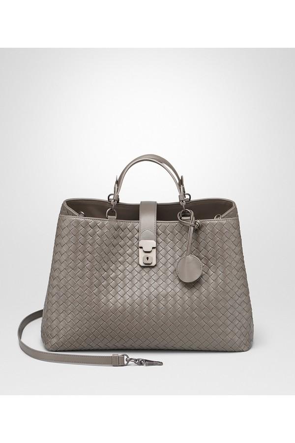 Steel Intrecciato Nappa Milano  17 Bag by Bottega Veneta at... 274583a245168