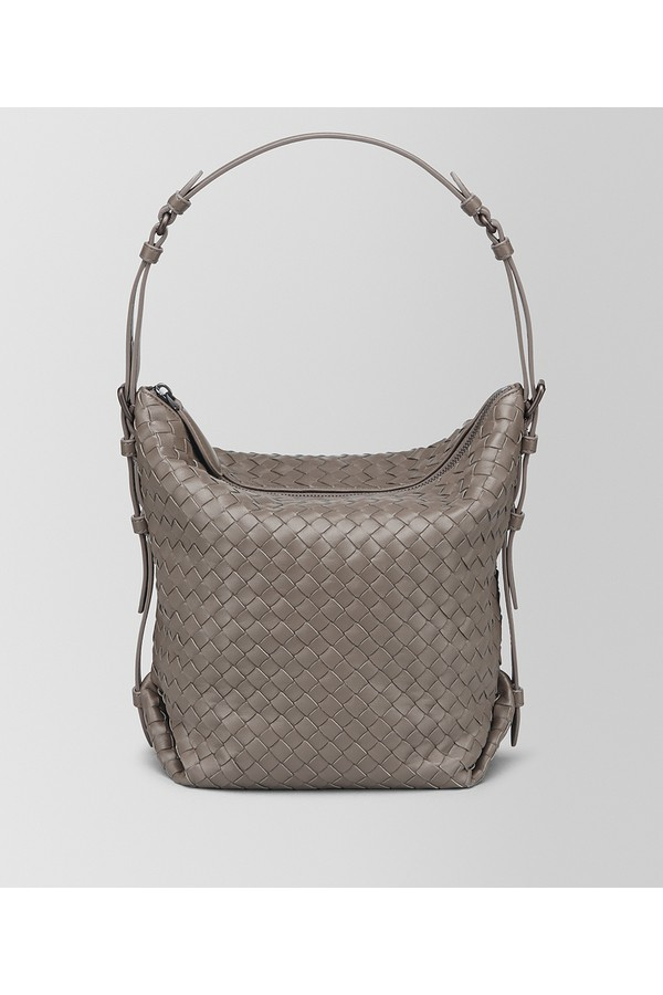 5c24a2ac53d Steel Intrecciato Nappa Medium Osaka Bag by Bottega Veneta at...