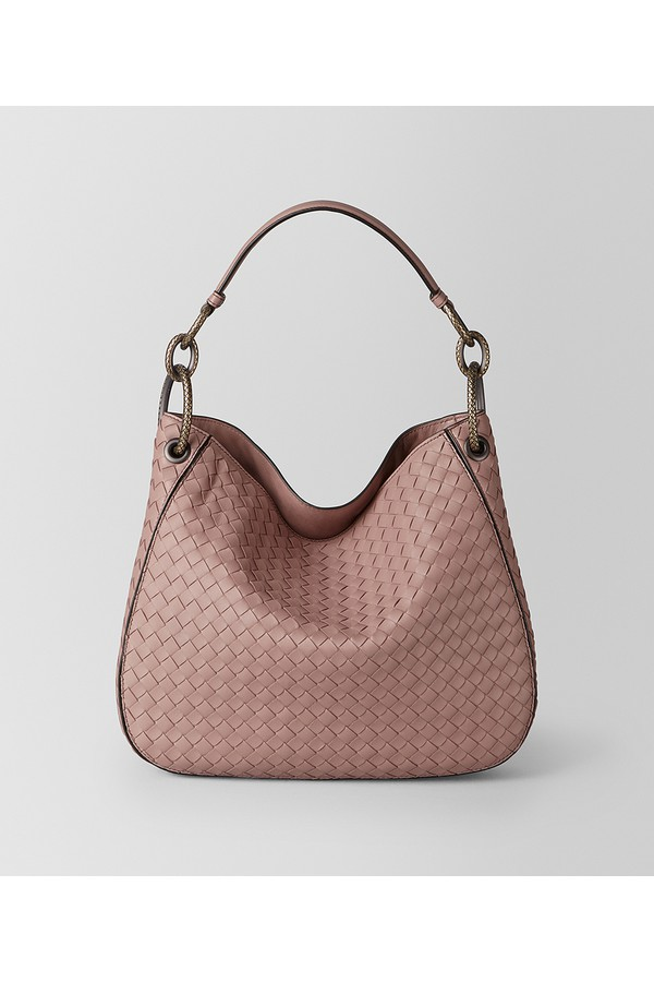Small Loop Bag In Intrecciato Nappa by Bottega Veneta at ORCHARD MILE e1b396fcef997