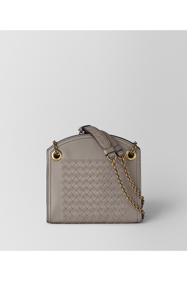 10a182f72674d Chain Wallet In Intrecciato Nappa by Bottega Veneta at ORCHARD MILE