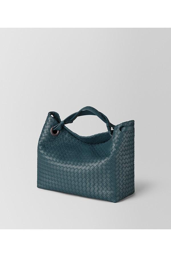 Light Gray Intrecciato Nappa Medium Garda Bag by Bottega Veneta at... b9773a5e9cf2f
