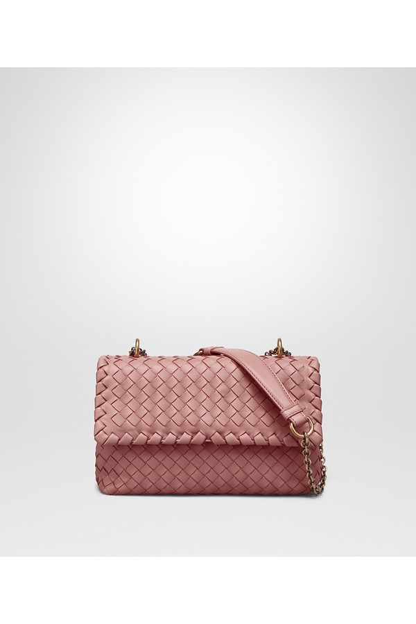 1157fbec9351 Baby Olimpia Bag In Boudoir Intrecciato Nappa Leather by Bottega...