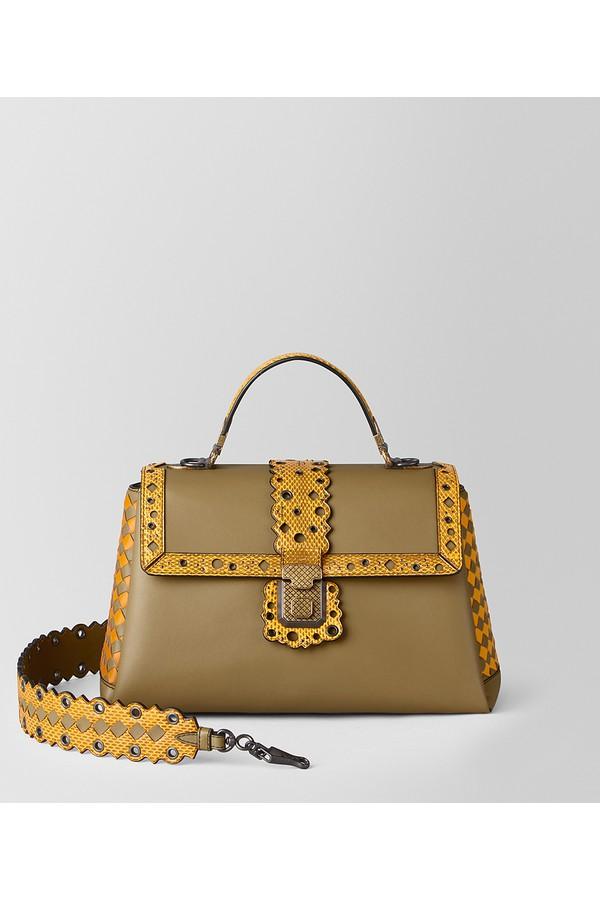 e818b67fa0da Medium Piazza Bag In Checker Lacy by Bottega Veneta at ORCHARD MILE