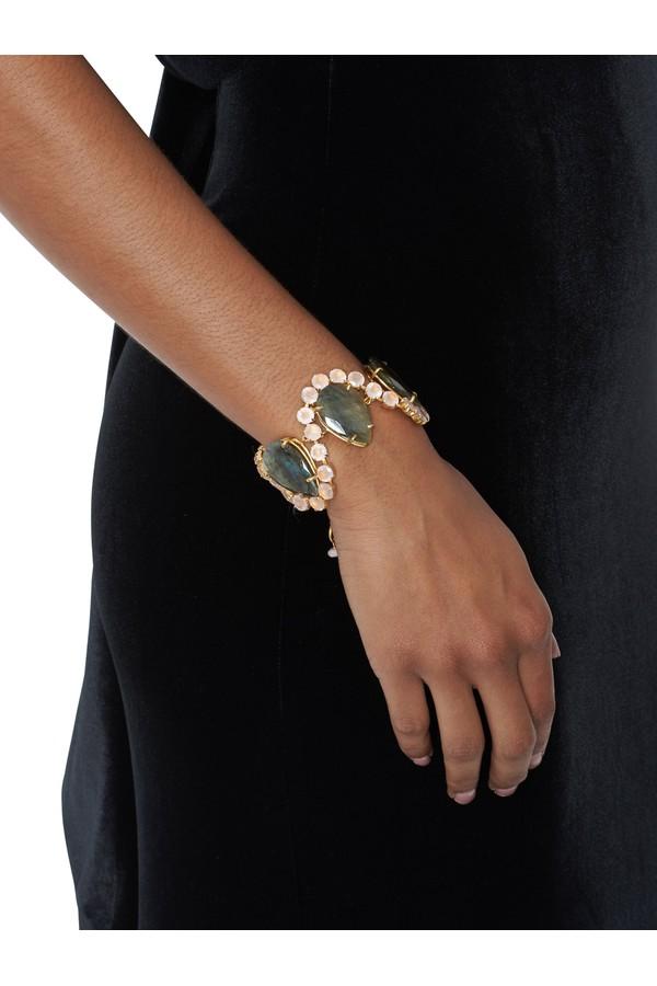 Bounkit Teardrop Stone Bracelet