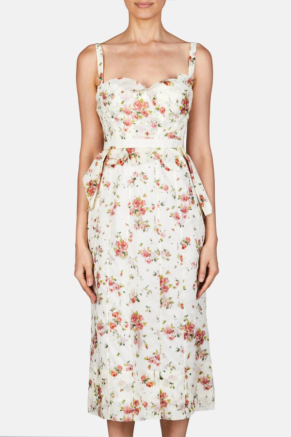 82ff03a097d69 Dailey Dress - Creme Multi by Brock Collection at ORCHARD MILE