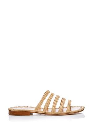 f2875d33bd22e Carrie Forbes Asmaa Raffia Slide Sandals