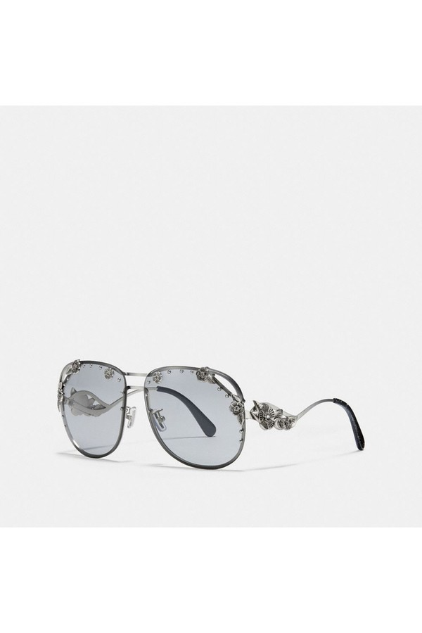 3e60e75387ca Tea Rose Aviator Sunglasses by Coach at ORCHARD MILE