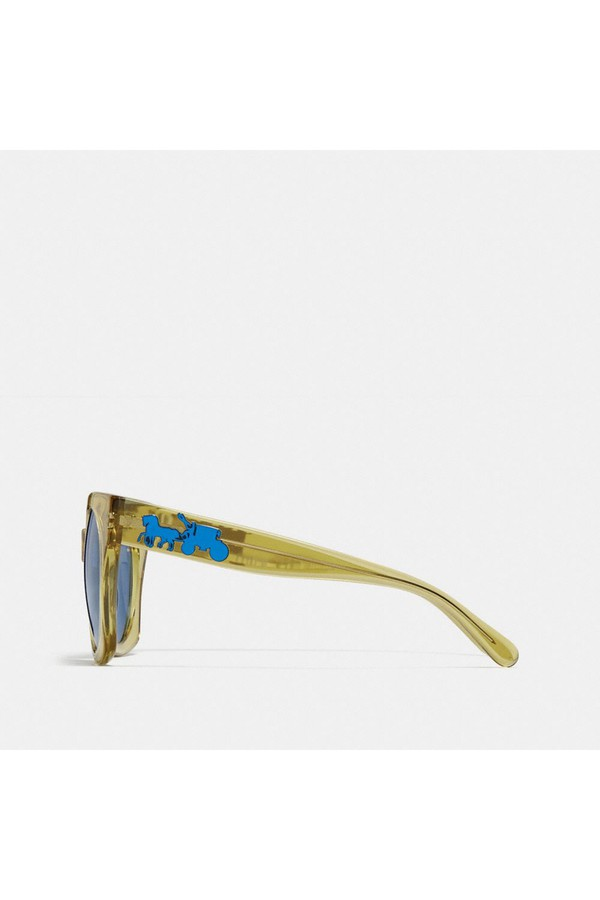 a021474e96 Horse And Carriage Hologram Sunglasses by Coach at ORCHARD MILE