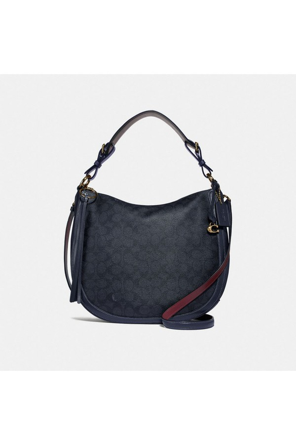 Sutton Hobo In Signature Canvas by Coach at ORCHARD MILE 00b0458d40c26