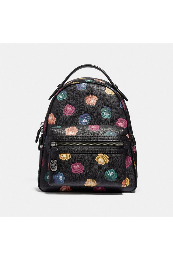 a4835beff93a Campus Backpack 23 With Rainbow Rose Print by Coach at ORCHARD MILE