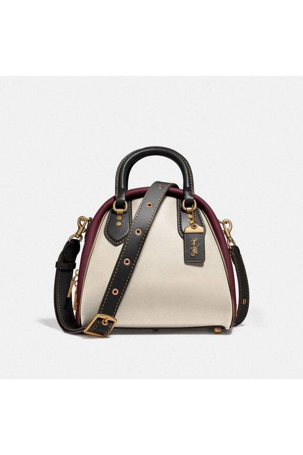 832bce2a3164da Marleigh Satchel In Colorblock by Coach at ORCHARD MILE