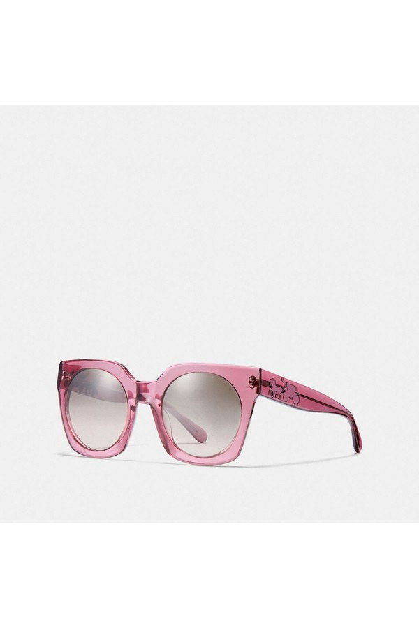e61eaa410f4b1 Horse And Carriage Hologram Sunglasses by Coach at ORCHARD MILE