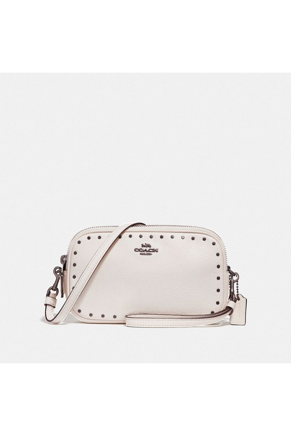 329302e60082 Sadie Crossbody Clutch With Rivets by Coach at ORCHARD MILE