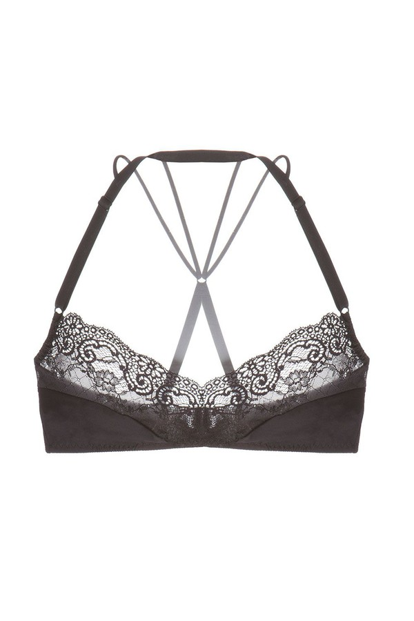 1163dfe61508dc Bisou Criss Cross Bralette by Cosabella at ORCHARD MILE
