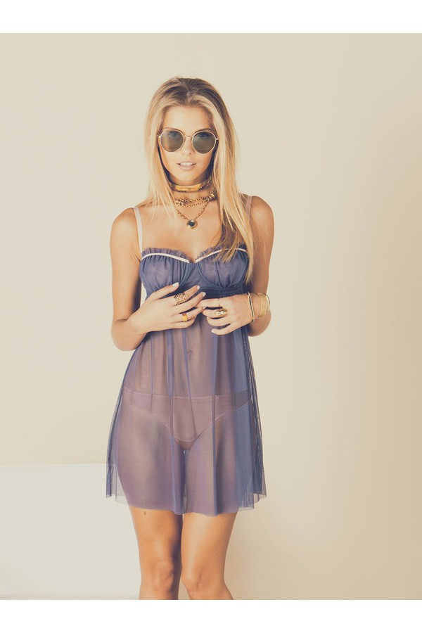 612720dc7af Juliette Sheer Underwire Babydoll by Cosabella at ORCHARD MILE