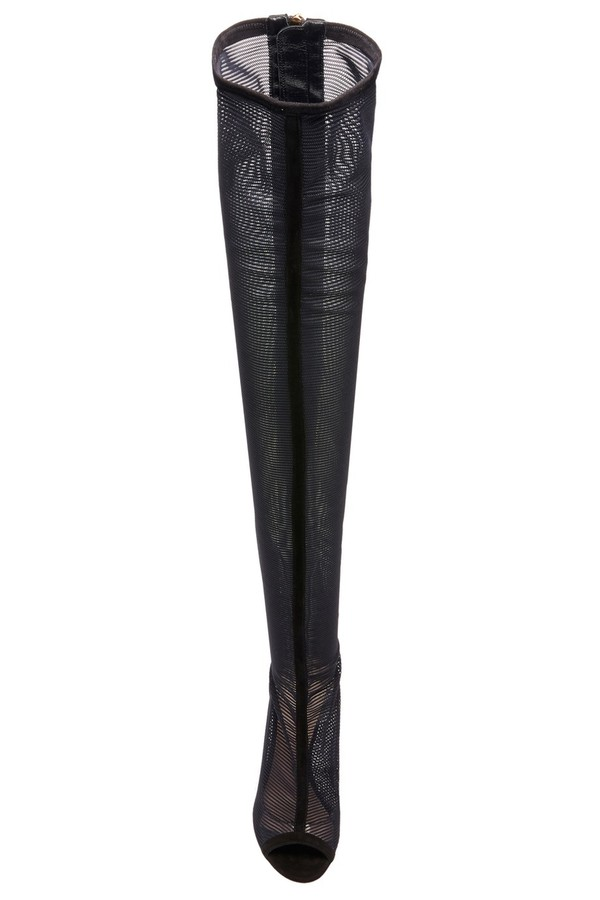 d50072f222c Black Emilio Over-The-Knee Boot by Cushnie at ORCHARD MILE