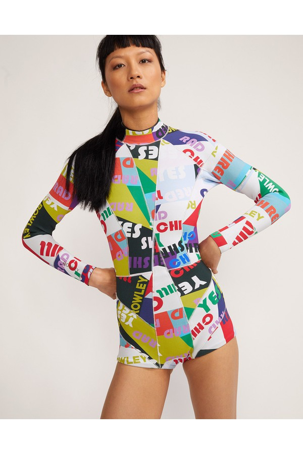 85d4067fa26 Good Vibes High Tide Wetsuit by Cynthia Rowley at ORCHARD MILE
