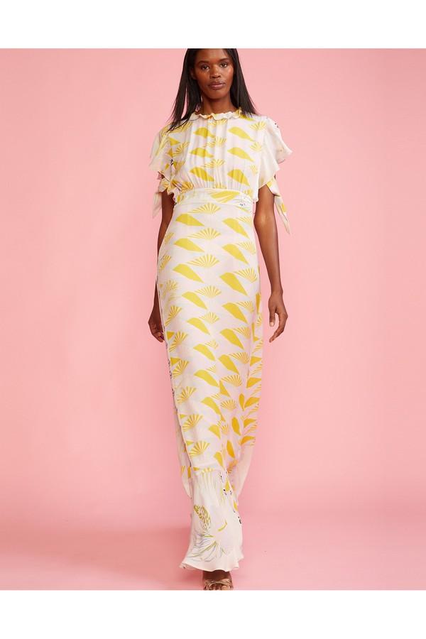 ec06105b8dc90b Talia Printed Tie Sleeve Dress by Cynthia Rowley at ORCHARD MILE