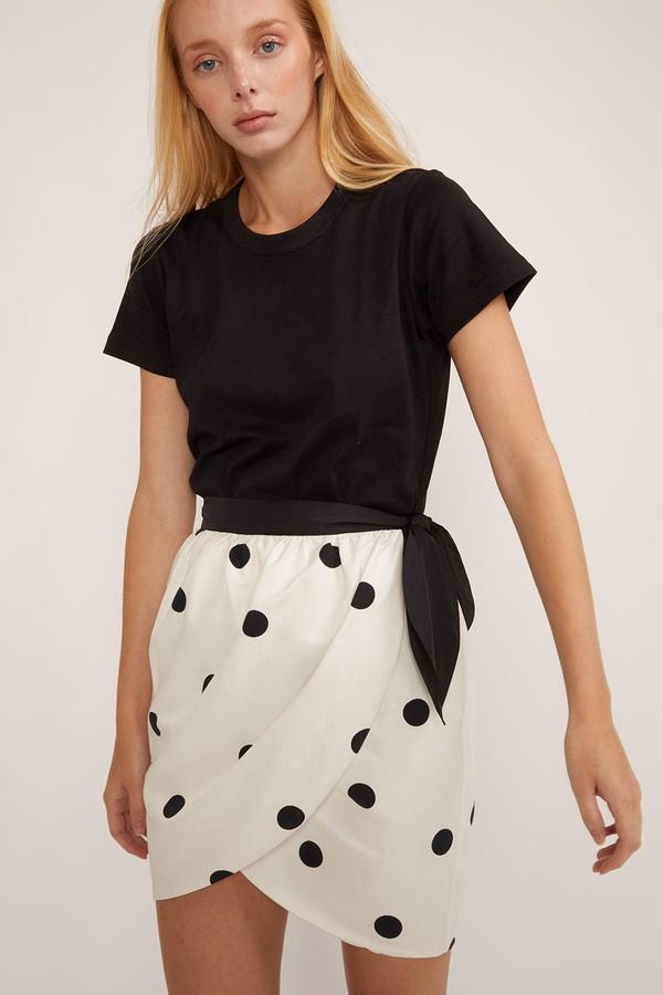 c6c865c1d Emery Polka Dot Wrap Skirt by Cynthia Rowley at ORCHARD MILE