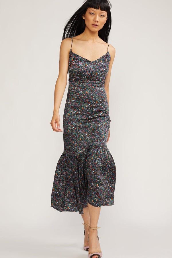 5e33b98049 Rosie Stretch Silk Dress by Cynthia Rowley at ORCHARD MILE