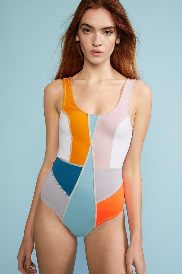Cynthia Rowley Kalleigh One Piece Swimsuit Extended Sizes Available