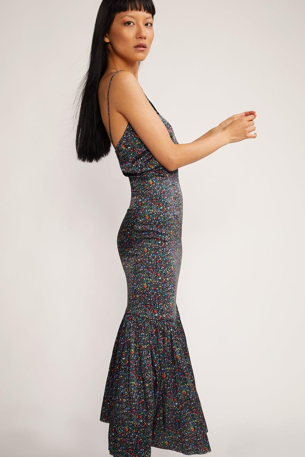 f45cde469e Rosie Stretch Silk Dress by Cynthia Rowley at ORCHARD MILE