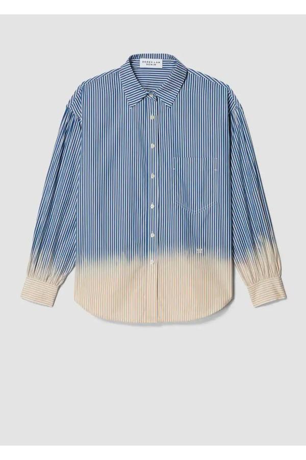 02d86ef4827e8d Striped Dip Dye Button-Down Shirt by Derek Lam 10 Crosby at...