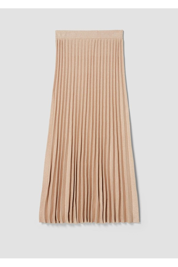 ffaaf197e2 Pleated Lurex Knit Skirt by Derek Lam 10 Crosby at ORCHARD MILE