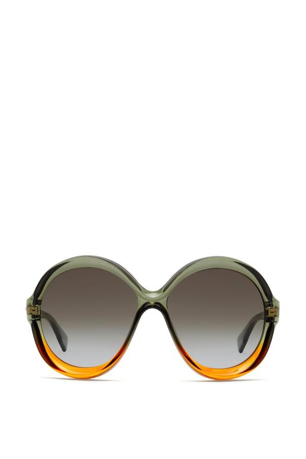 ff51aa21e7 Diorbianca Bicolor Round Sunglasses by Dior at ORCHARD MILE