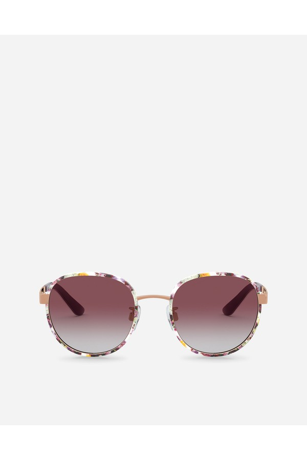 434dc4182bb8 Print Family Sunglasses by Dolce & Gabbana at ORCHARD MILE