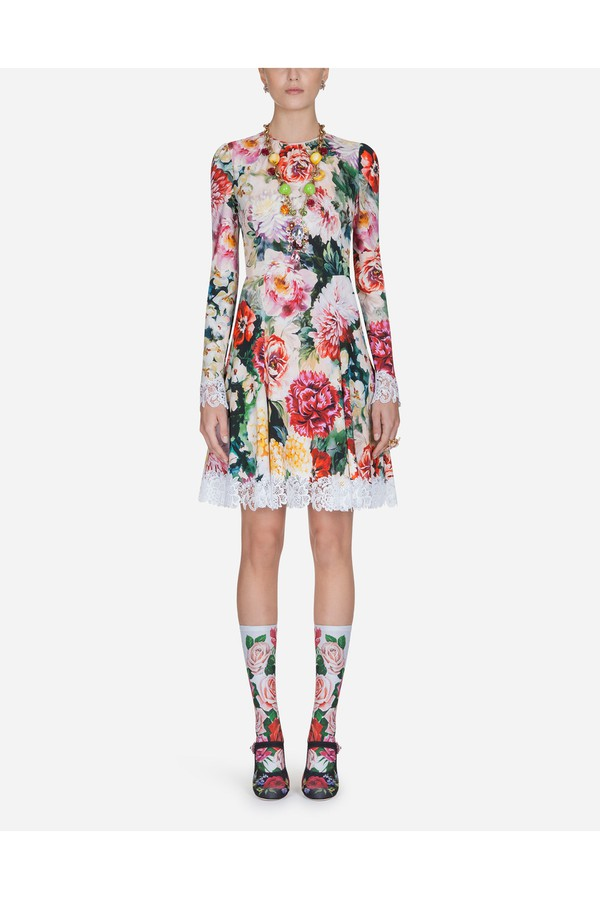 0178e00e Dress In Printed Viscose by Dolce & Gabbana at ORCHARD MILE