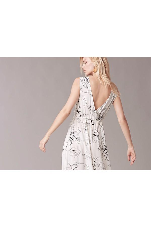 Sleeveless cinch waist dress by diane von furstenberg at for Cinched waist wedding dress