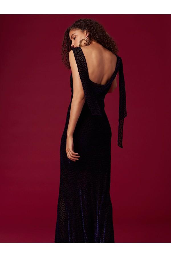 Shoulder Knot Slip Gown by Diane von Furstenberg at ORCHARD MILE