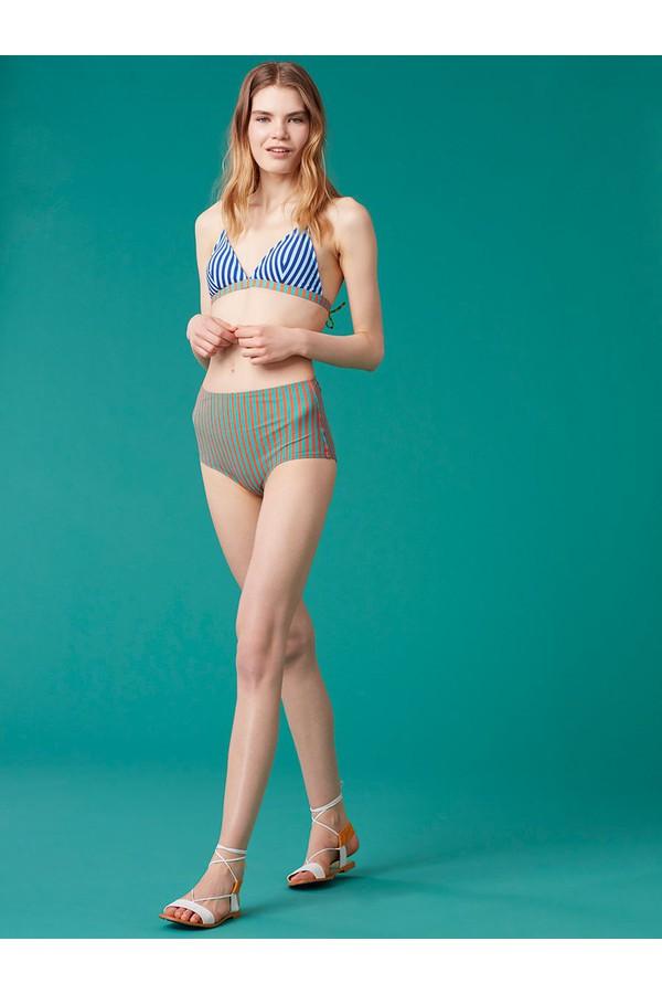 Diane von Furstenberg True High Waisted Bikini Bottom