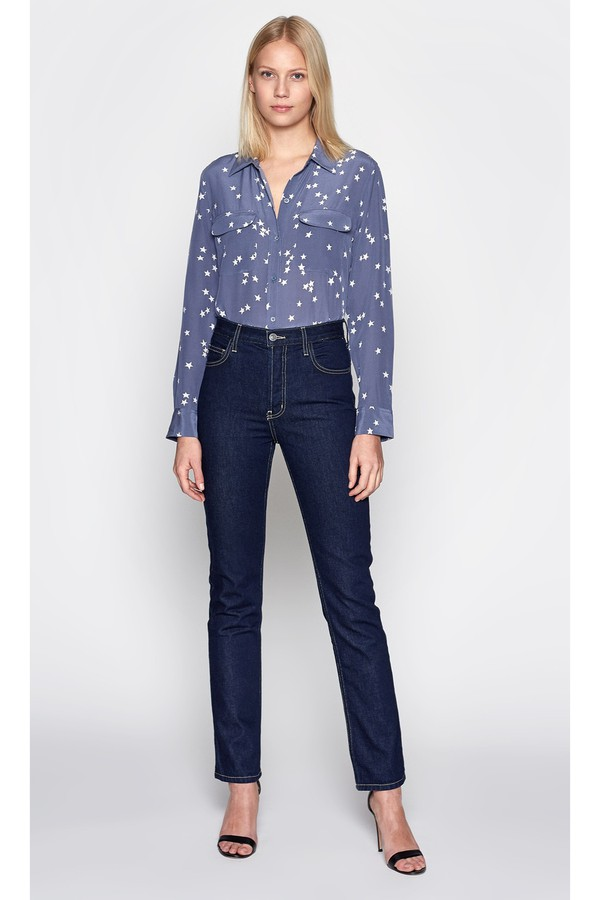 a14c0ae409b9a Slim Signature Silk Shirt by Equipment at ORCHARD MILE