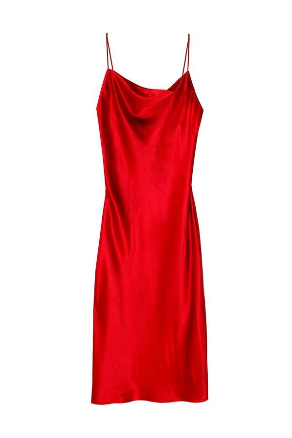 4ef44a7782b22 Cowl Neck Slip Dress by Fleur du Mal at ORCHARD MILE
