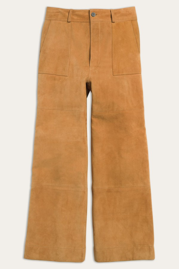 9631de6b7f5a Nadia Wide Leg Suede Pant by Frye at ORCHARD MILE