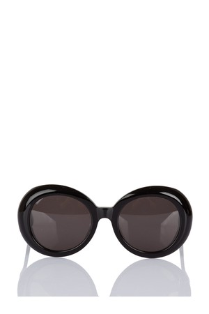 740a787ff304c Image of Gentle Monster Round. Gentle Monster Red Pocket Black Sunglasses