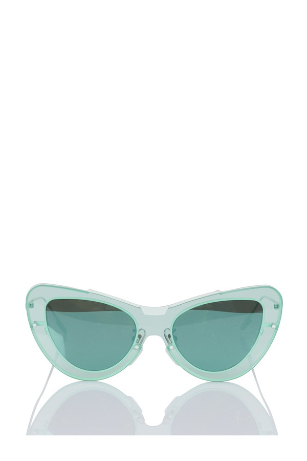 1f54cd0385f6d Leela Blue Sunglasses by Gentle Monster at ORCHARD MILE