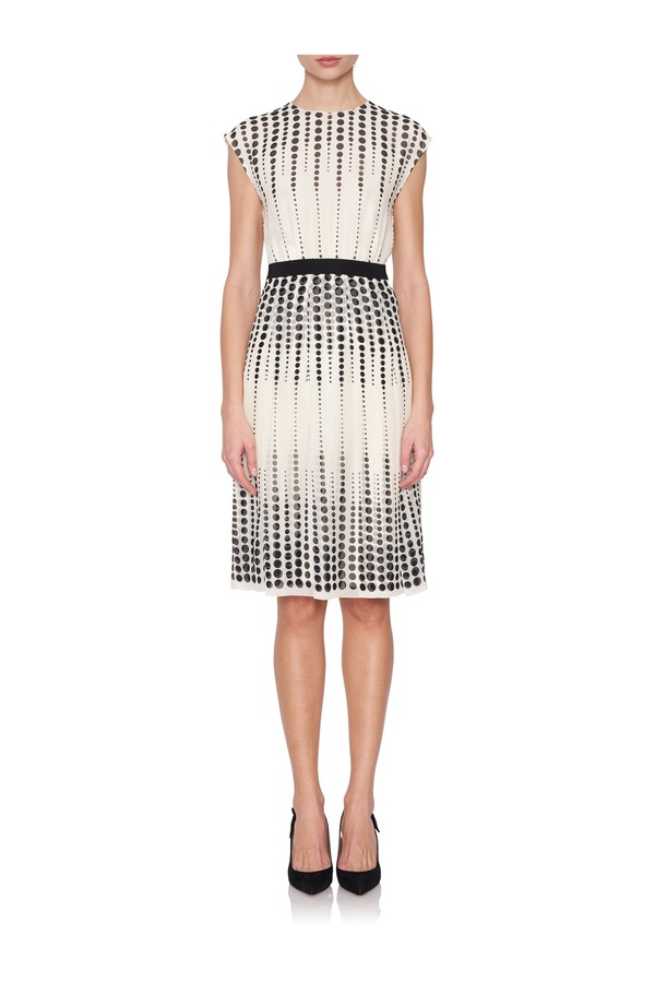95b8da3b27f Sleeveless Polka Dot Dress by Giambattista Valli at ORCHARD MILE