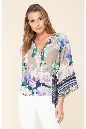 e02894f93e4 Shop Clothing / Tops / Blouses from Hale Bob at ORCHARD MILE with...